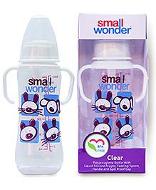 Small Wonder Clear Polypropylene Feeding Bottle - 250 Ml