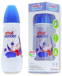 Small Wonder Candy Polypropylene Feeding Bottle - 250 Ml - 0 Months+