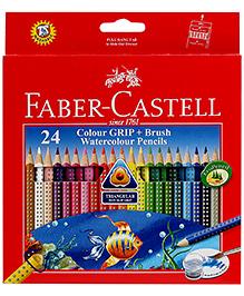 Faber Castell Colour Grip Watercolour Pencils Set