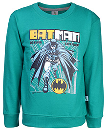 Cucumber Full Sleeves Sweatshirt - Batman Print