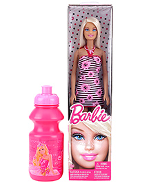 Barbie Doll With Free Bottle - Height 30 cm