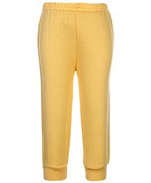 Babyhug Ribbed Hem Legging - Yellow