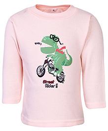 Cucumber Full Sleeves Thermal Top - Street Rider Print