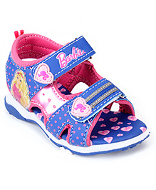 Barbie Sandal Dual Velcro Closure - Blue