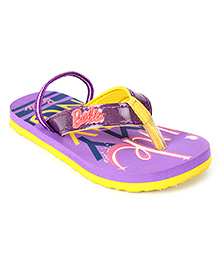 Barbie Flip Flop With Back Strap - Purple