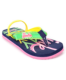 Barbie Flip Flop With Back Strap - Blue