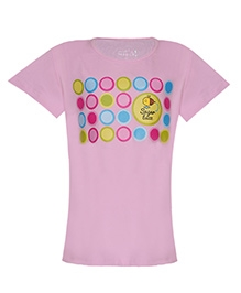 Imagica Sugarbuzz Half Sleeves T-Shirt - Circle Print
