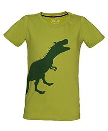 Imagica Half Sleeves T-Shirt - Dinosaur Print
