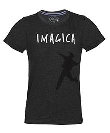 Imagica Half Sleeves T-Shirt - Melange