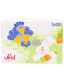 Sevi Ludo Game - Multi Colour