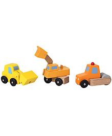Sevi Wooden Road Construction Set - 3 Pieces