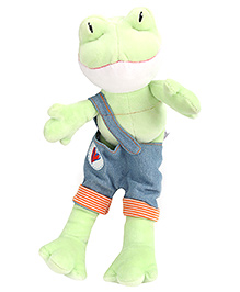 Trudi Frog Soft Toy - Height 29 cm