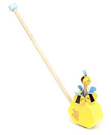Sevi Push Along Bees - Yellow
