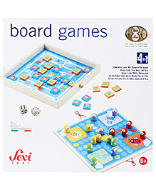 Sevi 4 in 1 Classic Games Set