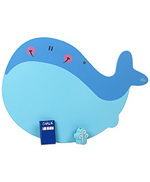 Sevi Wooden Board Whale Shape - Blue