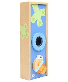 Sevi Wooden Pencil Case - Blue
