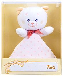 Trudi Plush Doudou Kitty Soft Toy - Height 21 cm