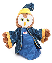 Trudi Hand Puppet Owl Or Wizard - 25 cm