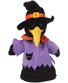 Trudi Hand Puppet Crow Or Witch - 27 cm
