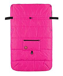 Kushies Baby Banana Stroller Blanket - Pink