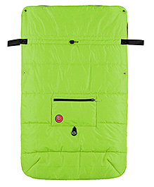 Kushies Baby Banana Stroller Blanket - Green