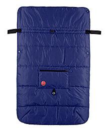 Kushies Baby Banana Stroller Blanket - Navy Blue