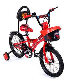 Hero Cycles Disney Spider Man 16T Bicycle - Red