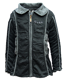 Gron Full Sleeves Jacket - Solid Color