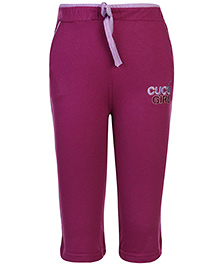 Cucu Fun Track Pant With Drawstring