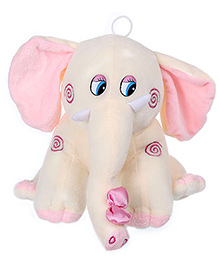 Tickles Elephant Soft Toy With Loop