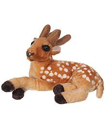 Tickles Deer Soft Toy - Brown