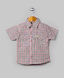 Red & Black Checkered Shirt