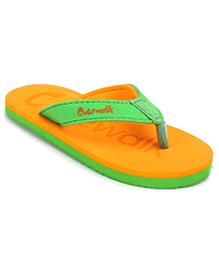Cute Walk by Babyhug Flip Flops - Orange