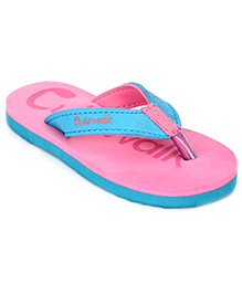 Cute Walk Slippers - Pink And Blue