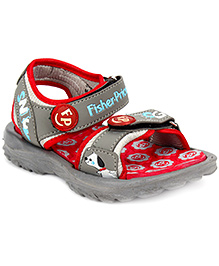 Fisher Price Sandal Dual Velcro Closure - Grey
