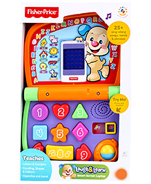 Fisher Price Laugh And Learn Laptop - Multi Colour