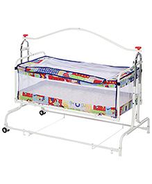 Infanto Compact Cradle. Twin Multicolor