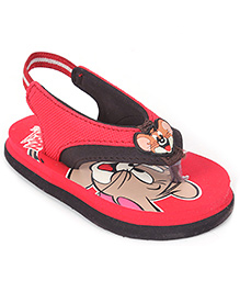 Tom and Jerry Flip Flop With Back Strap - Jerry Motif