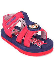 Tom and Jerry Sandal Velcro Closure - Jerry Applique