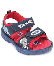 Tom and Jerry Printed Sandal - Dual Velcro Closure