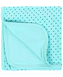 Babyhug Towel Polka Dots - Green