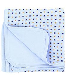 Babyhug Towel Polka Dots - Blue