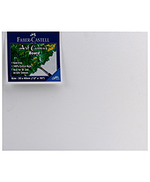 Faber Castell Canvas Board - White