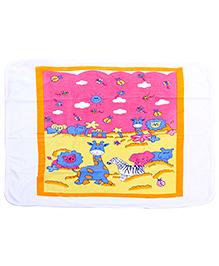 Babyhug Hooded Towel - Animal Print