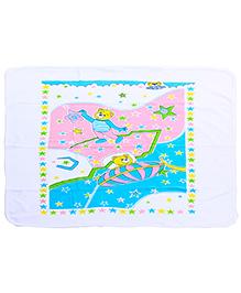 Babyhug Bath Towel - Teddy Print