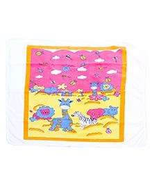 Babyhug Bath Towel - Animal Print