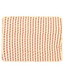 Babyhug Bath Towel - Polka Dot Print