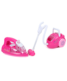 Yolopark 2 in 1 Battery Operated Electric Iron And Vacuum Cleaner