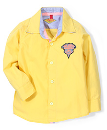 Tippy Full Sleeves Shirt - Yellow