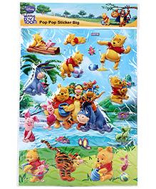 Winnie The Pooh Puffy Pop Pop Stickers